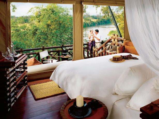 Four Seasons Tented Camp, room, view, Thailand