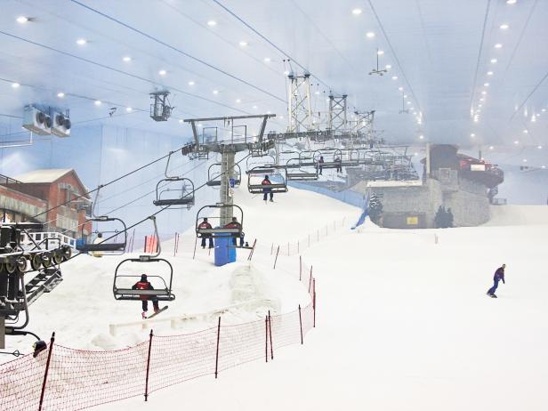 Ski Dubai, indoor skiing, United Arab Emirates