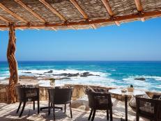 Esperanza, hotel, outdoor dining, Los Cabos, Mexico