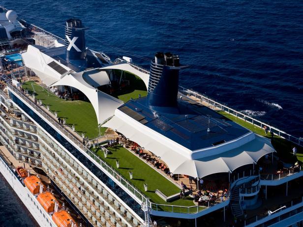 Celebrity Solstice, cruise ship, lawn club