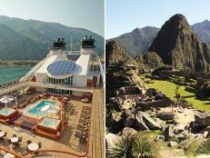 Seabourn Odyssey, cruise ship, Machu Piccu, Peru