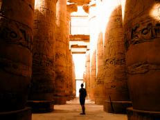 Go back in history and explore the ancient Luxor Temple in Egypt.