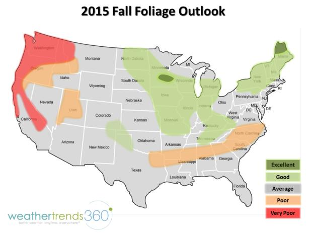 Fall Foliage Map Travel Channel: New England Fall Foliage Map At Slyspyder.com