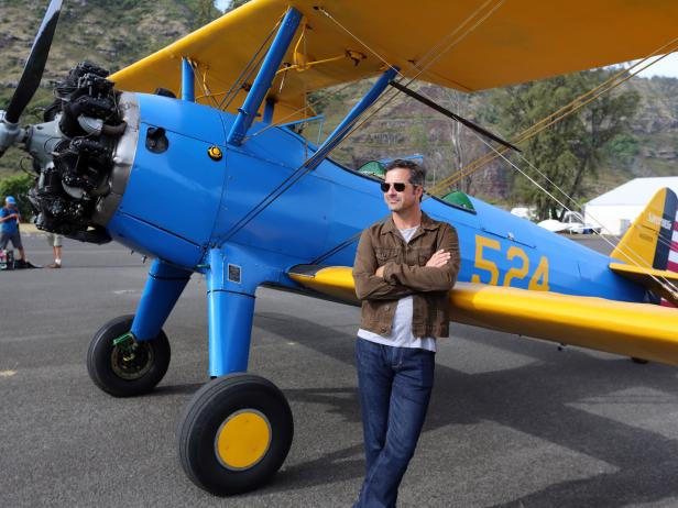 Host Don Wildman out on Oahu at Dillingham Airfield to fly Bi-Planes, as seen on Travel Channel's The Trip: 2015.