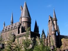 wizarding world of harry potter, universal orlando, florida, hogwarts, school of witchcraft & wizardry