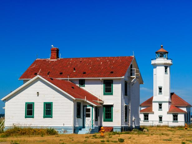 Point Wilson Lighthouse in Port Townsend, Washinton