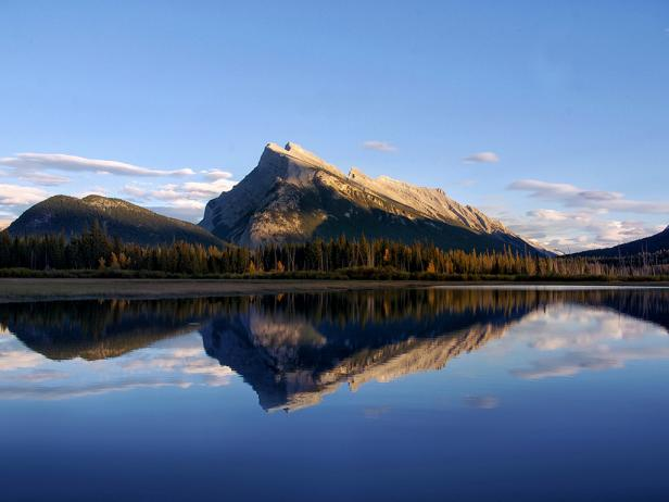 Mount Rundle in Canada's Banff National Park