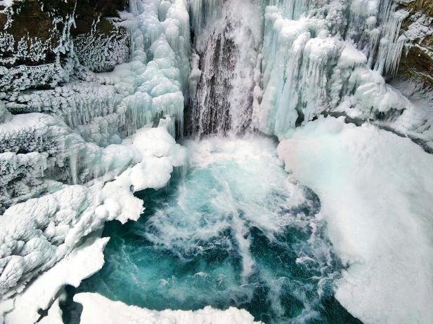 Johnston Canyon in Banff National Park, Canada
