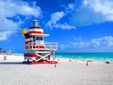 America's sexiest city, Miami lays claim to South Beach, one of the nation's greatest stretches of sugar-white sands. Explore this area and be charmed by its history, trendy restaurants and more.