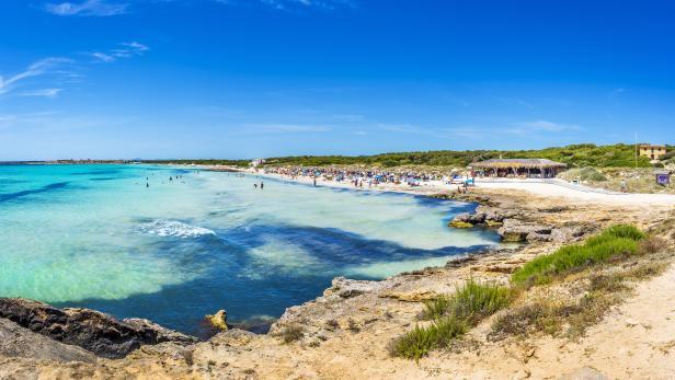 Es Trenc Beach, Mallorca, Spain