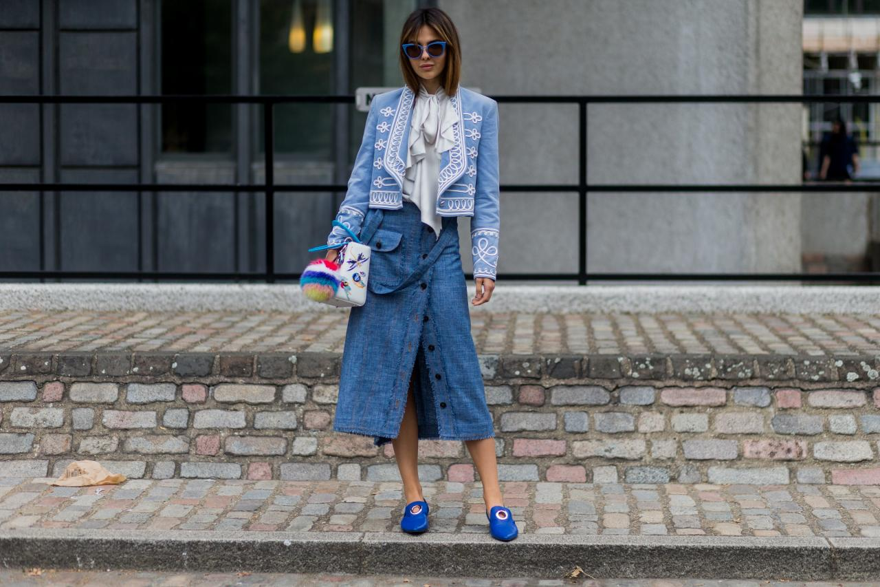 Street Style Looks From London Fashion Week 2016 Travel
