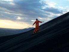 Would you try volcano boarding or extreme ironing?