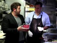 Adam Tries Beef Kabob Tacos
