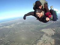 Grandma Takes a Risky Jump