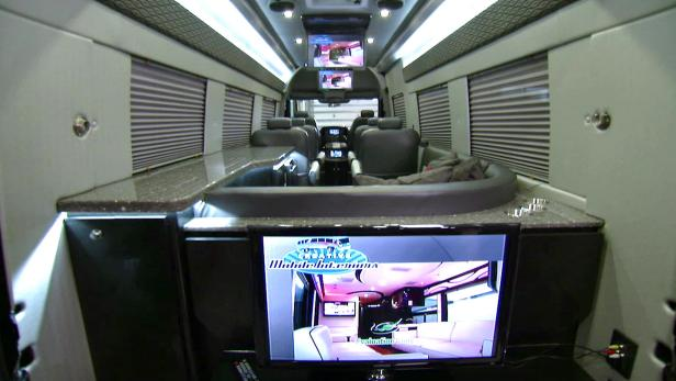 Tricked Out Sprinter Van Travel Channel