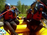 Roaring Fork River's Class-4 Rapids