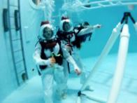 Weightless Under Water Training