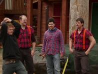 Alaskan Lumberjack Skills Show