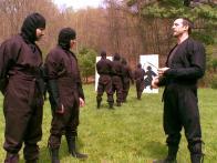 Knife-Throwing at Ninja Camp