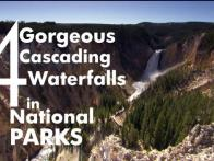 4 Gorgeous Cascading Waterfalls