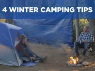 4 Winter Camping Tips