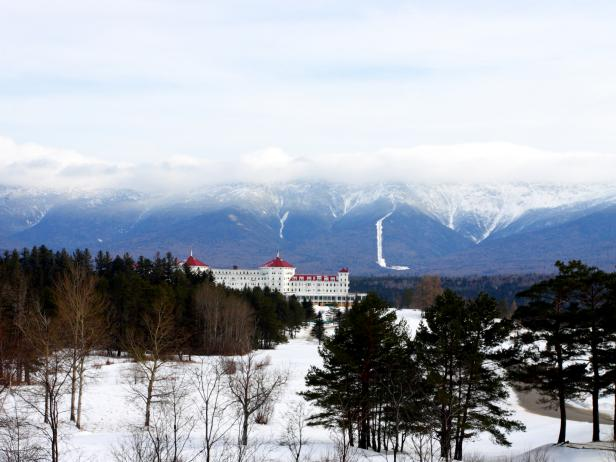 washington hotel, bretton woods, new hampshire, skiing, resorts, family