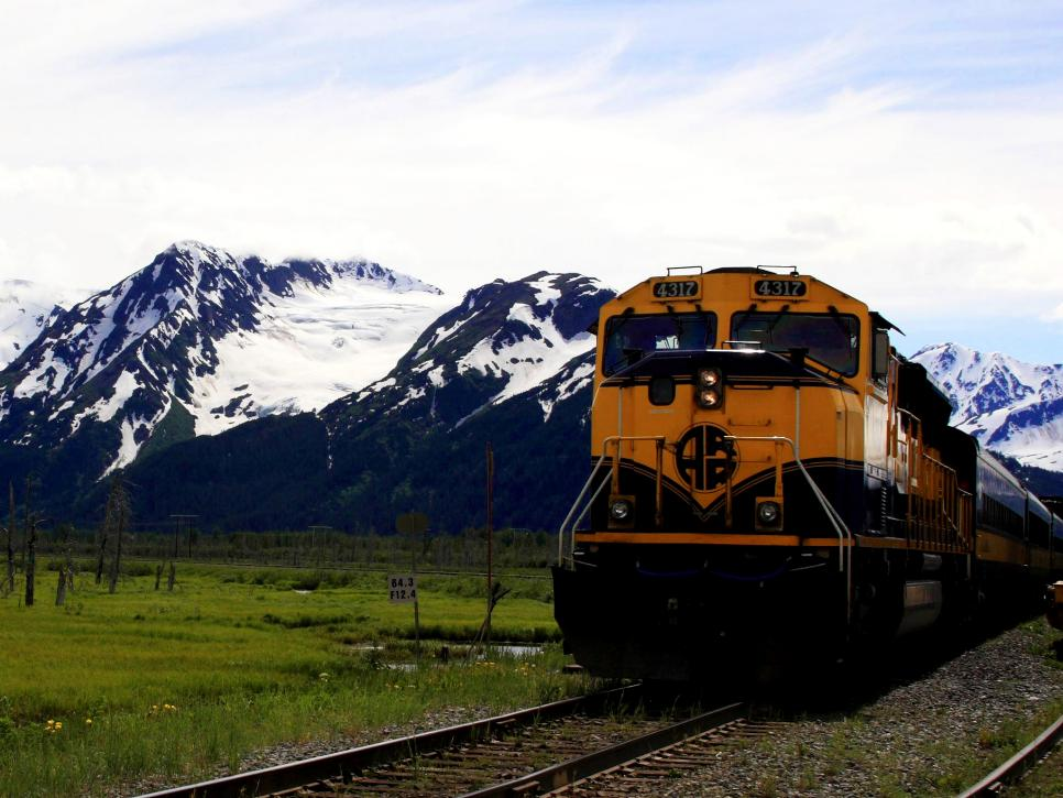 Alaska Railroad S Denali Star
