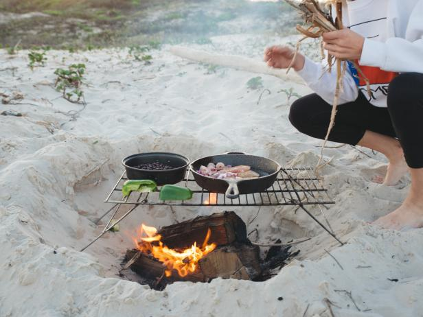 Outdoor Cooking With Cast Iron