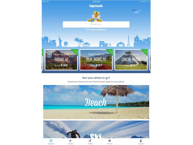 Hipmunk Travel App