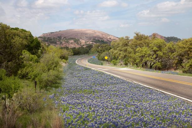 Bluebonnet Trail and Enchanted Rock, Fredericksburg, Texas