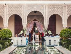 Romantic Marrakech is a dream wedding destination.