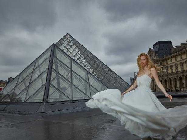 Bride In Paris France