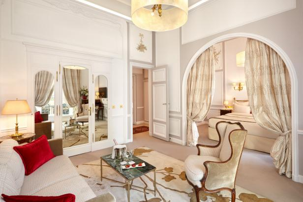 A Suite at the Hotel Regina, Paris