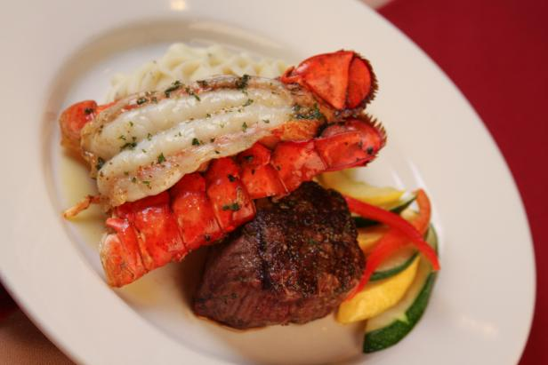 The Classic Surf and Turf combo