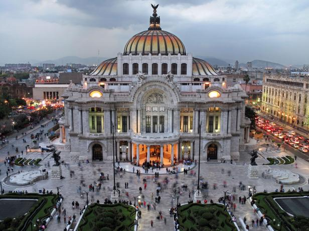 Feel the vibrant energy of Mexico City.