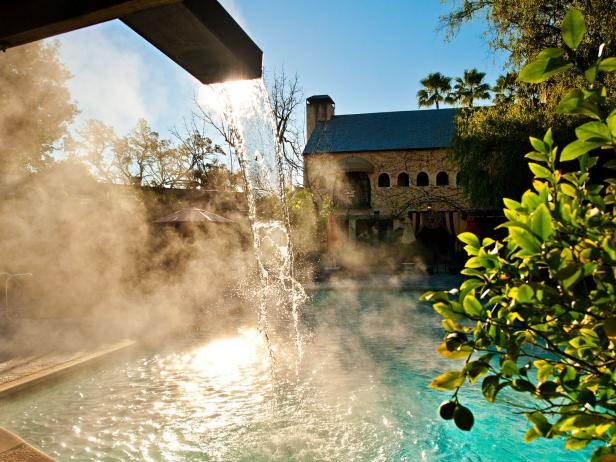 Visit a Spa in California Wine Country