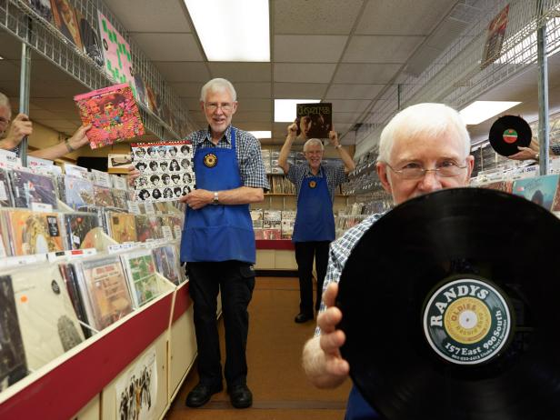 Randy's Record Shop, Salt Lake City, Ut.