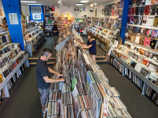 Waterloo Records, Austin, Tx.