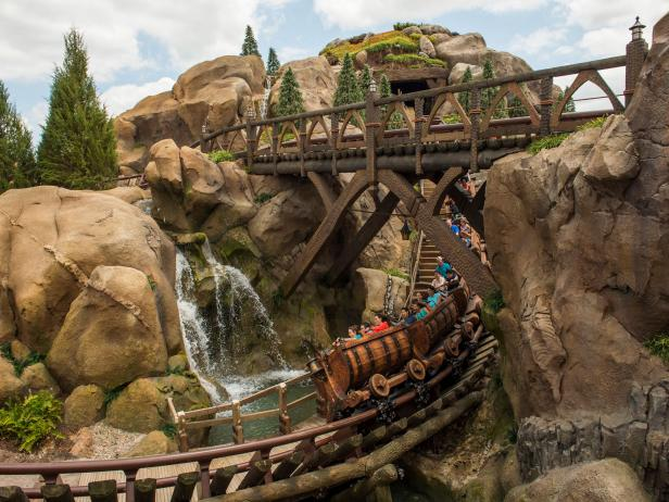 Seven Dwarfs Mine Train<br />