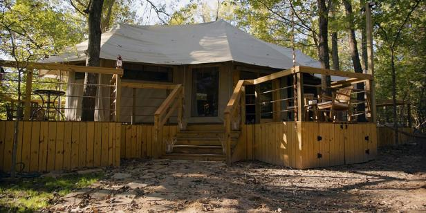 Double F River Ranch Tent