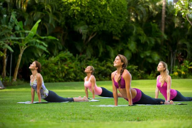 Hilton Hawaiian Village Yoga Class
