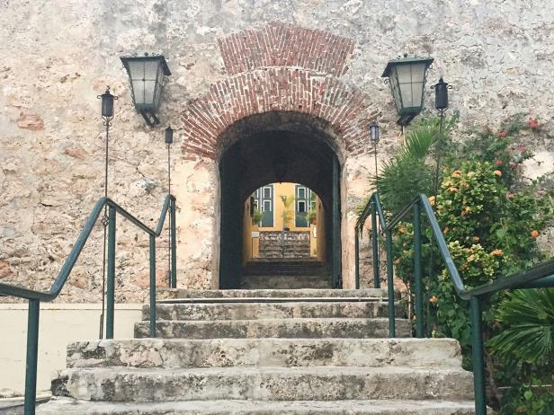 Entrance to Fort Nassau