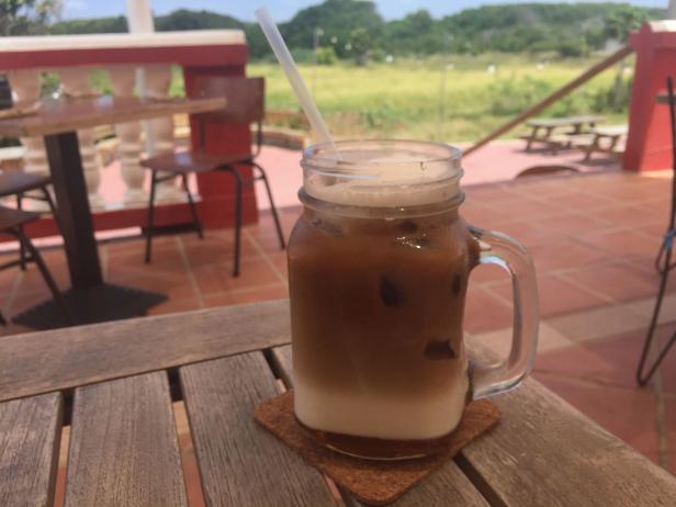 Iced Coffee at Hofi Cas Cora