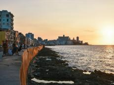 Walk the Malecon at Sunset