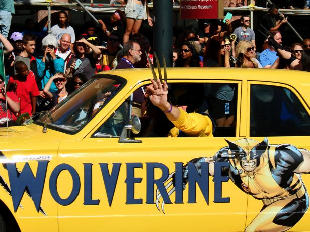 Wolverine Car and Cosplay at Dragon Con 2017