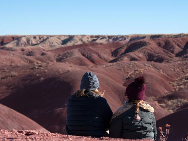Painted Desert in Petrified Forest National Park, Arizona