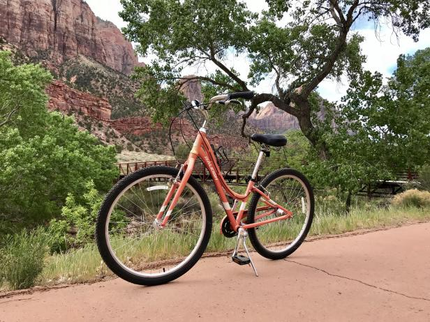 Bike at Zion National Park
