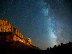 Night Sky at Zion National Park