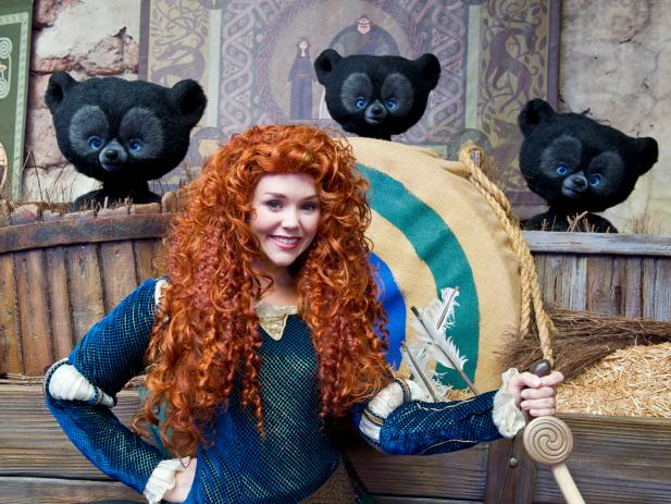 Meet Merida at Disney World
