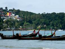 Patong combines pristine sand with bars, wild nightclubs and shopping.